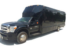 Blackhawks Party Limo Bus rental